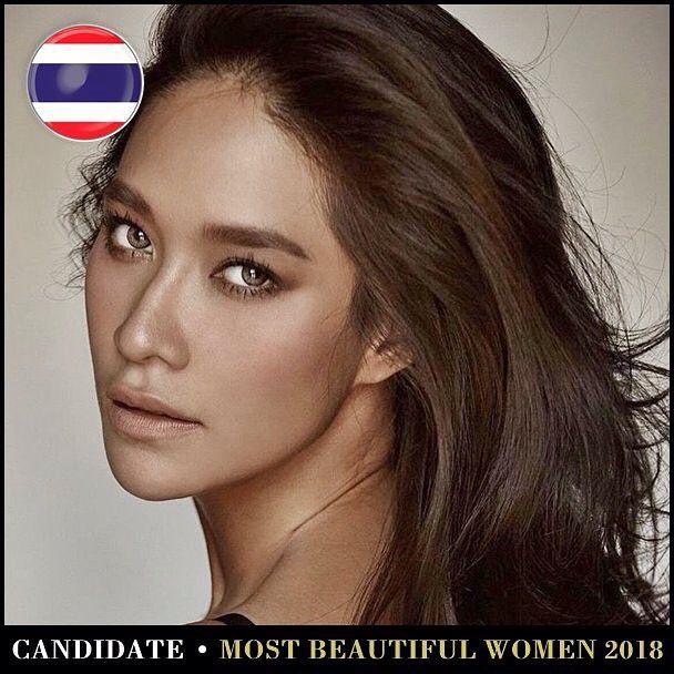 Những mỹ nhân Thái lọt Top 100 gương mặt đẹp nhất thế giới năm 2018 (10)
