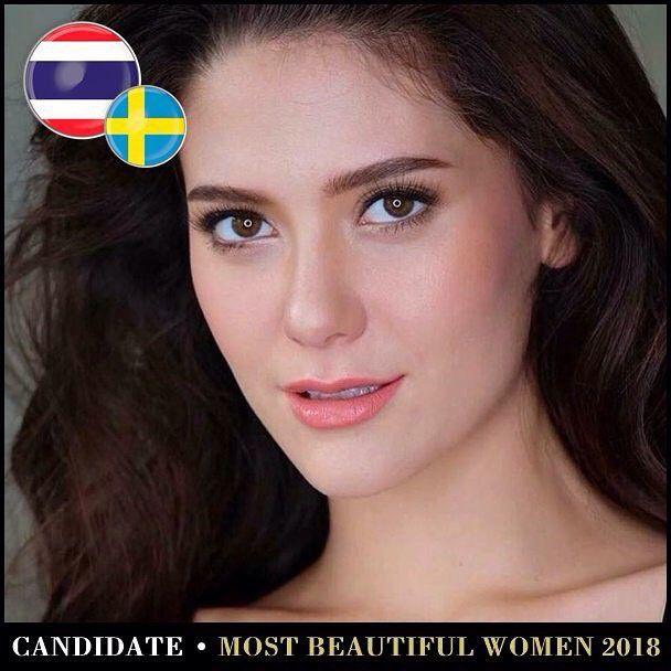 Những mỹ nhân Thái lọt Top 100 gương mặt đẹp nhất thế giới năm 2018 (16)