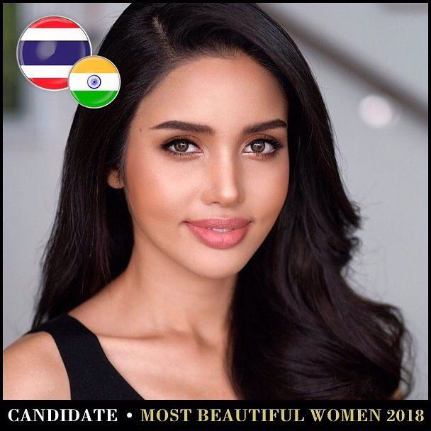 Những mỹ nhân Thái lọt Top 100 gương mặt đẹp nhất thế giới năm 2018 (17)