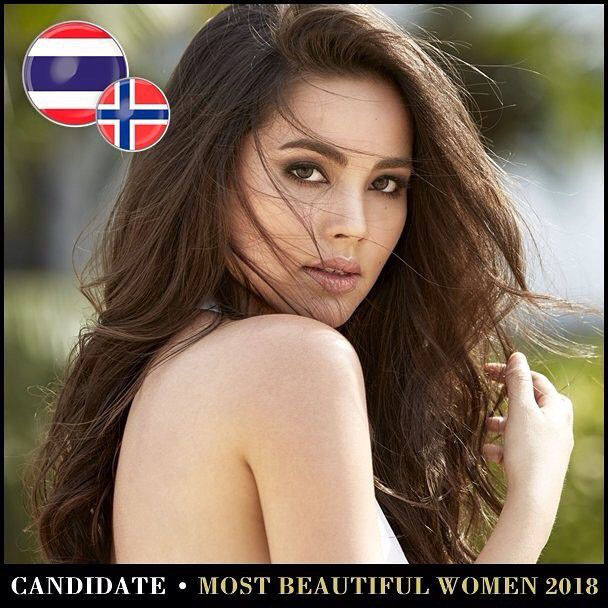 Những mỹ nhân Thái lọt Top 100 gương mặt đẹp nhất thế giới năm 2018 (4)