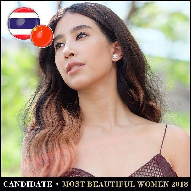 Những mỹ nhân Thái lọt Top 100 gương mặt đẹp nhất thế giới năm 2018 (8)