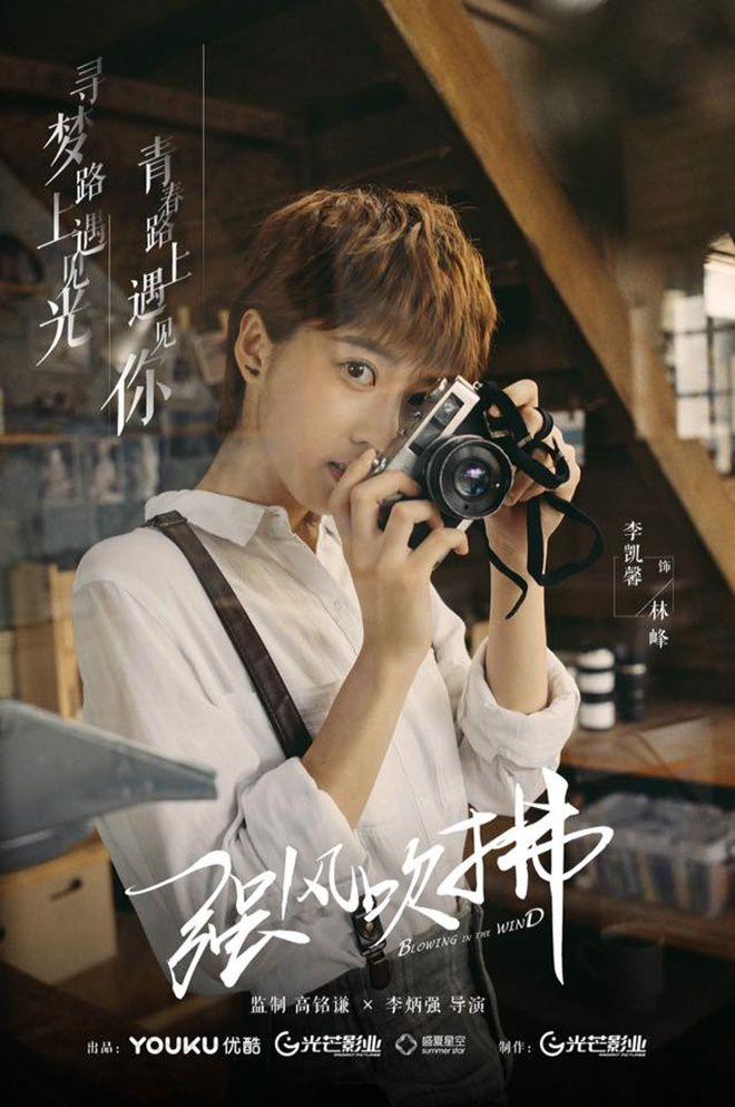 """Nonkul Chanon đóng phim """"Gió lớn thoáng qua"""" cùng Hình Chiêu Lâm (10)"""