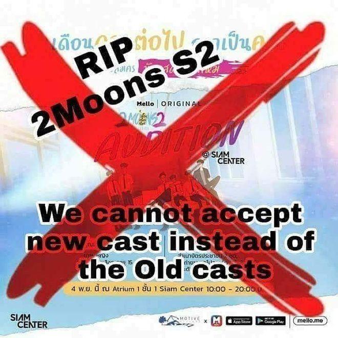"""Phim """"2 Moons The Series 2"""" thay toàn bộ dàn diễn viên khiến mọt buồn rầu (7)"""
