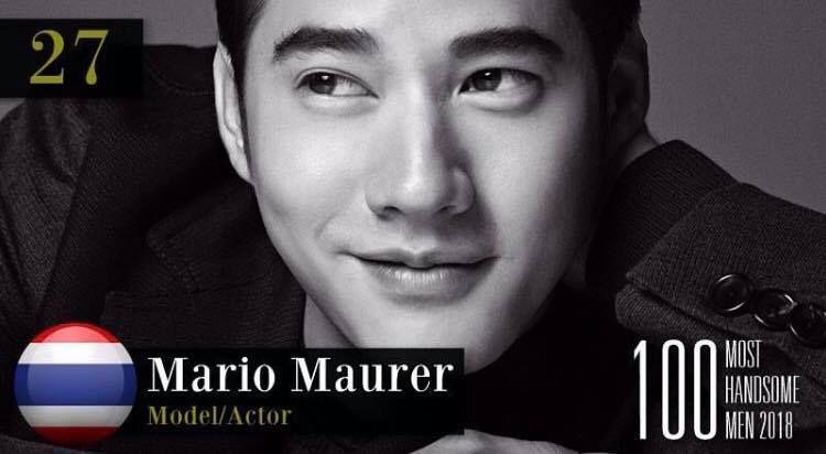 4 nam diễn viên Thái Lan lọt Top 100 gương mặt nam đẹp trai nhất (1)