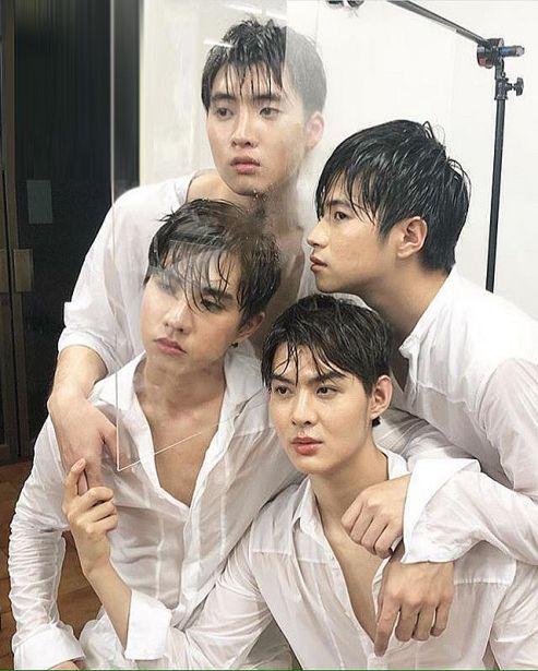 Phim Tình Cờ Yêu 2 Thái Lan hé lộ hình ảnh mới về 2 cặp đôi nam chính (1)