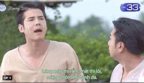 """Thong Ek Mor Ya Tha Chalong"" Mario Maurer bị tẩn sấp mặt vì lỡ lời chê bai (1)"