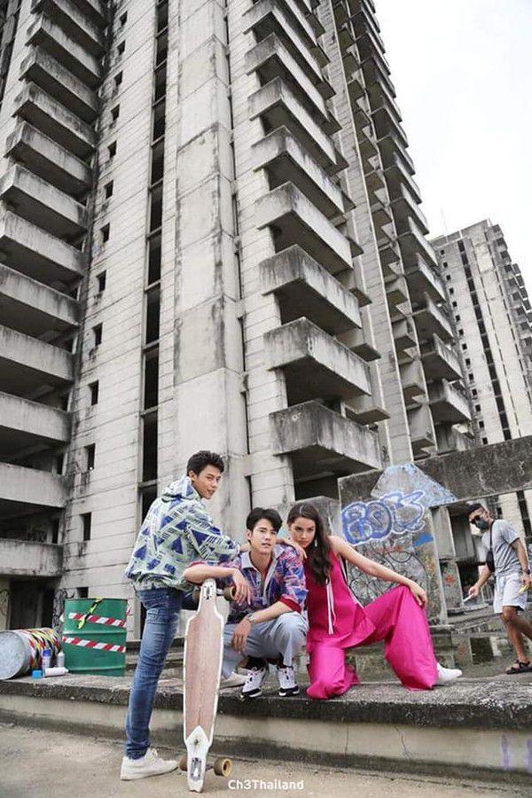 Hóng phim Thái mới của Mario Maurer với Yaya, Nadech với Taew Natapohn (13)