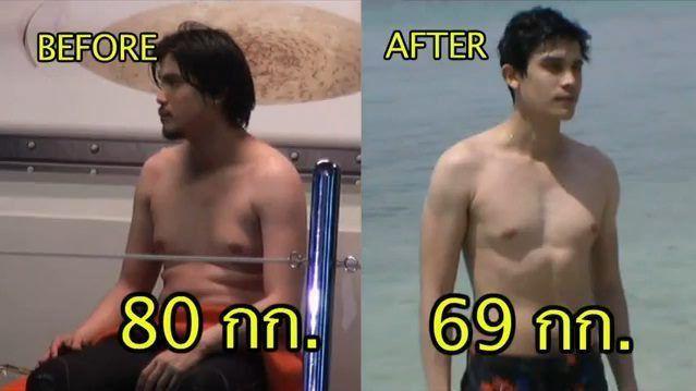 Lột xác ngoạn mục, 6 nam thần Thái trở thành động lực giảm cân cho fan (14)