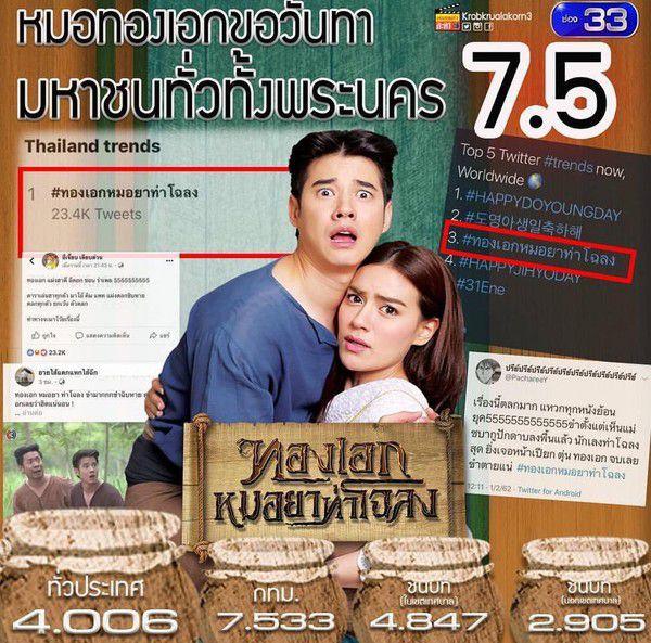 Tập 1 phim Thong Ek Mor Yah Tah Chaloang cực thú vị, xem là mê mẩn ngay! (12)