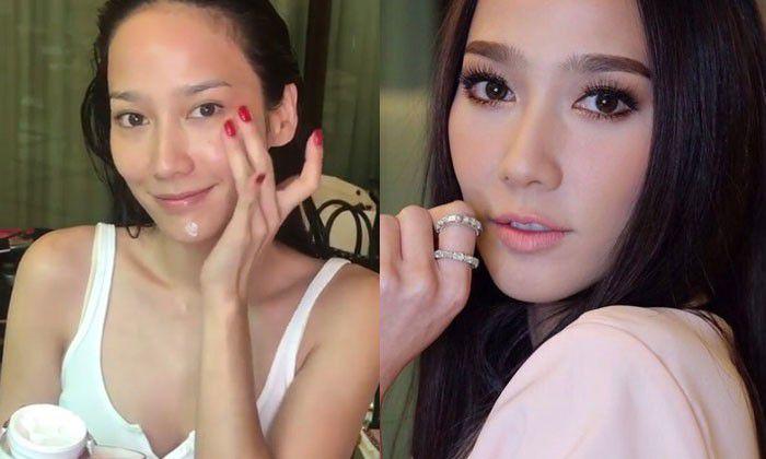 Soi mặt mộc của mỹ nhân Thái Lan: Người đẹp bất chấp, kẻ xuống sắc (21)