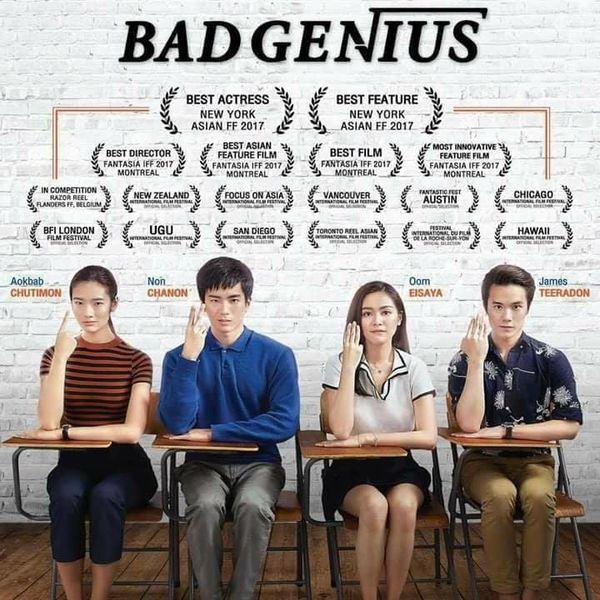 """HOT: Phim điện ảnh Thái Lan """"Bad Genius"""" sẽ được Hollywood remake (1)"""