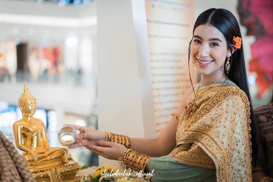 Ngắm nhăn sắc đỉnh cao của dàn mỹ nhân Tbiz khi hóa nữ thần tại Songkran 2019 (18)