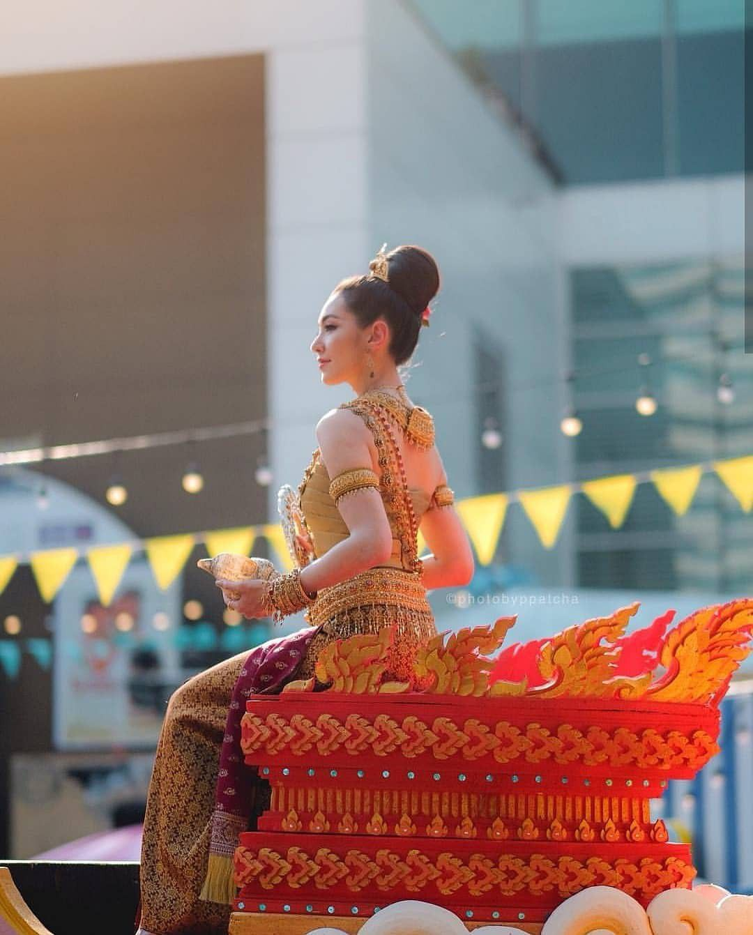 Ngắm nhăn sắc đỉnh cao của dàn mỹ nhân Tbiz khi hóa nữ thần tại Songkran 2019 (5)