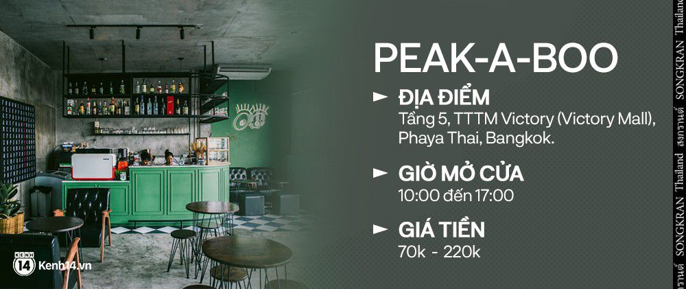 """Loạt quán cafe """"mới xịn xò"""" bạn nên ghé chân khi tới Bangkok Thái Lan (17)"""