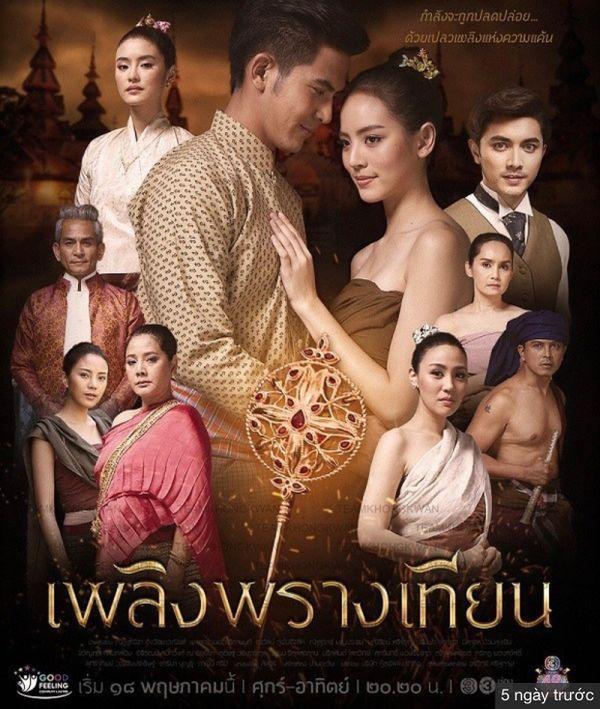 Lửa giấu nến: Phim cổ trang xuyên không Thái về chuyện tình tay ba (4)