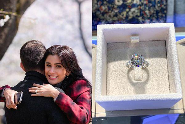 Poo Praya Lundberg được bạn trai cầu hồn với nhẫn kim cương 80000 USD (12)