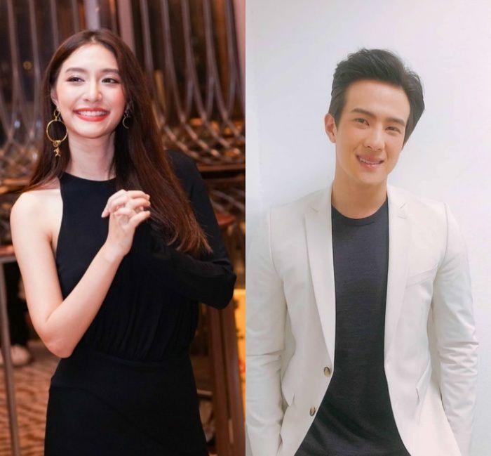 Mew Nittha sánh đôi cùng James Ma trong phim Kaew Tah Tee Sarm (1)