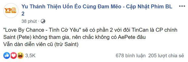 Love By Chance 2 chuẩn bị ra mắt nhưng lại vắng Saint Suppapong (1)