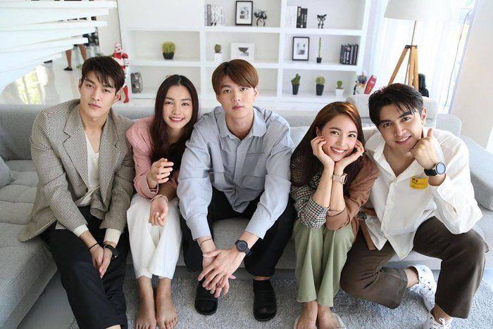 """Chia sẻ của Pon Nawasch và Bua Nalinthip về phim mới """"Minh châu rực rỡ"""" (4)"""