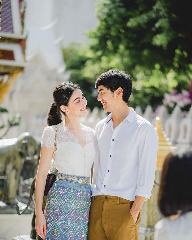 Mai Davika và Ter Chantavit thường lên đồ tông xuyệt tông đầy ngọt ngào (2)