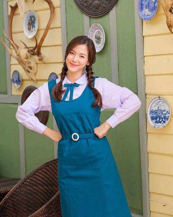 Baifern Pimchanok khoe ảnh hậu trường phim Sợi dây chuyền hoàng lan (2)