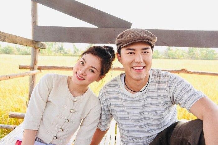Baifern Pimchanok khoe ảnh hậu trường phim Sợi dây chuyền hoàng lan (4)