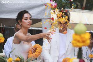 Mik Thongraya cực điển trai trong lễ khai máy phim Talay Luang (11)