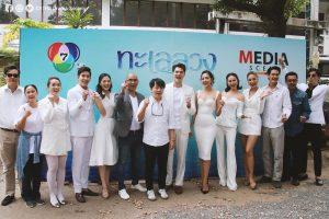 Mik Thongraya cực điển trai trong lễ khai máy phim Talay Luang (5)